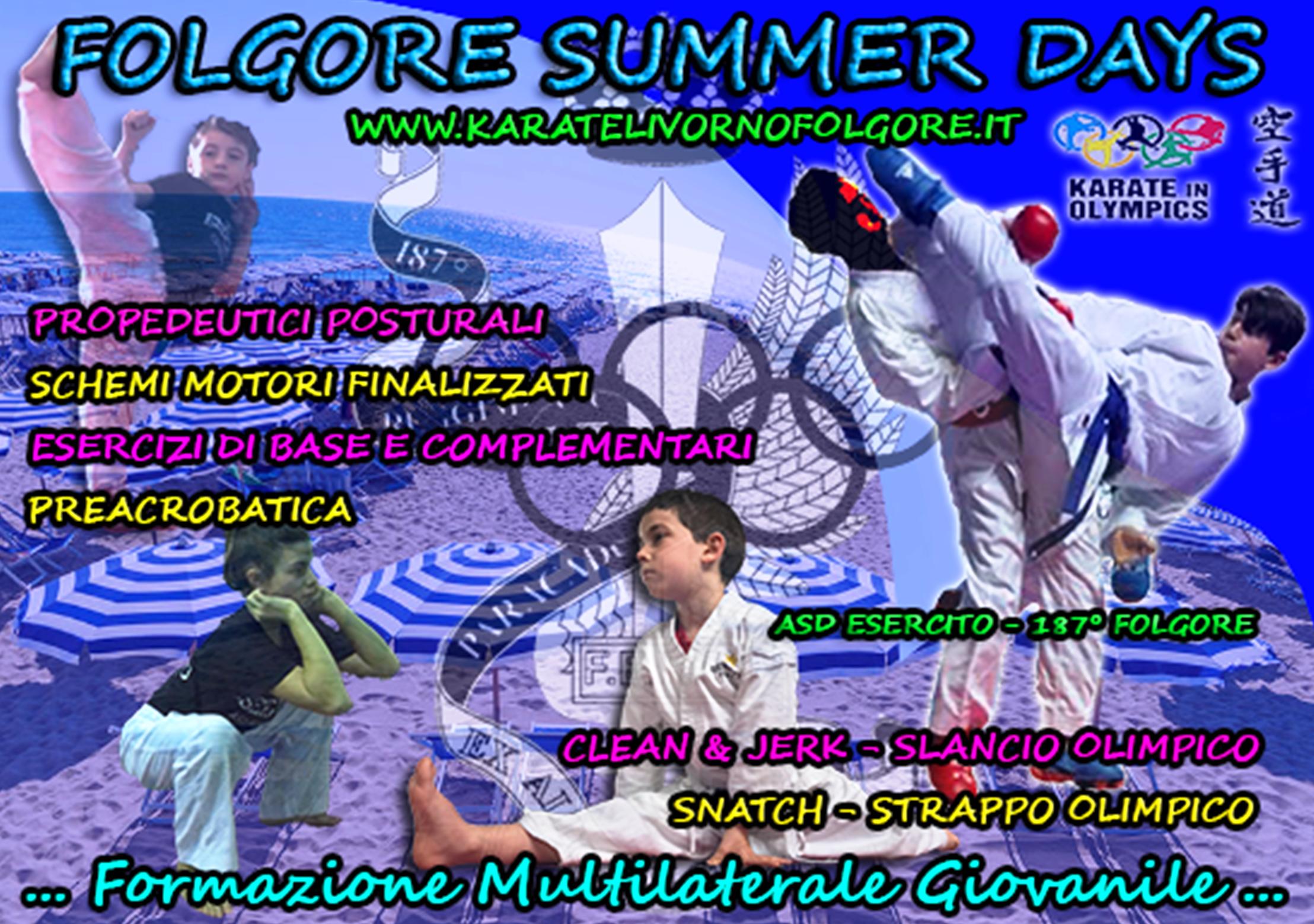 "VIA AL ""FOLGORE SUMMER DAYS"""