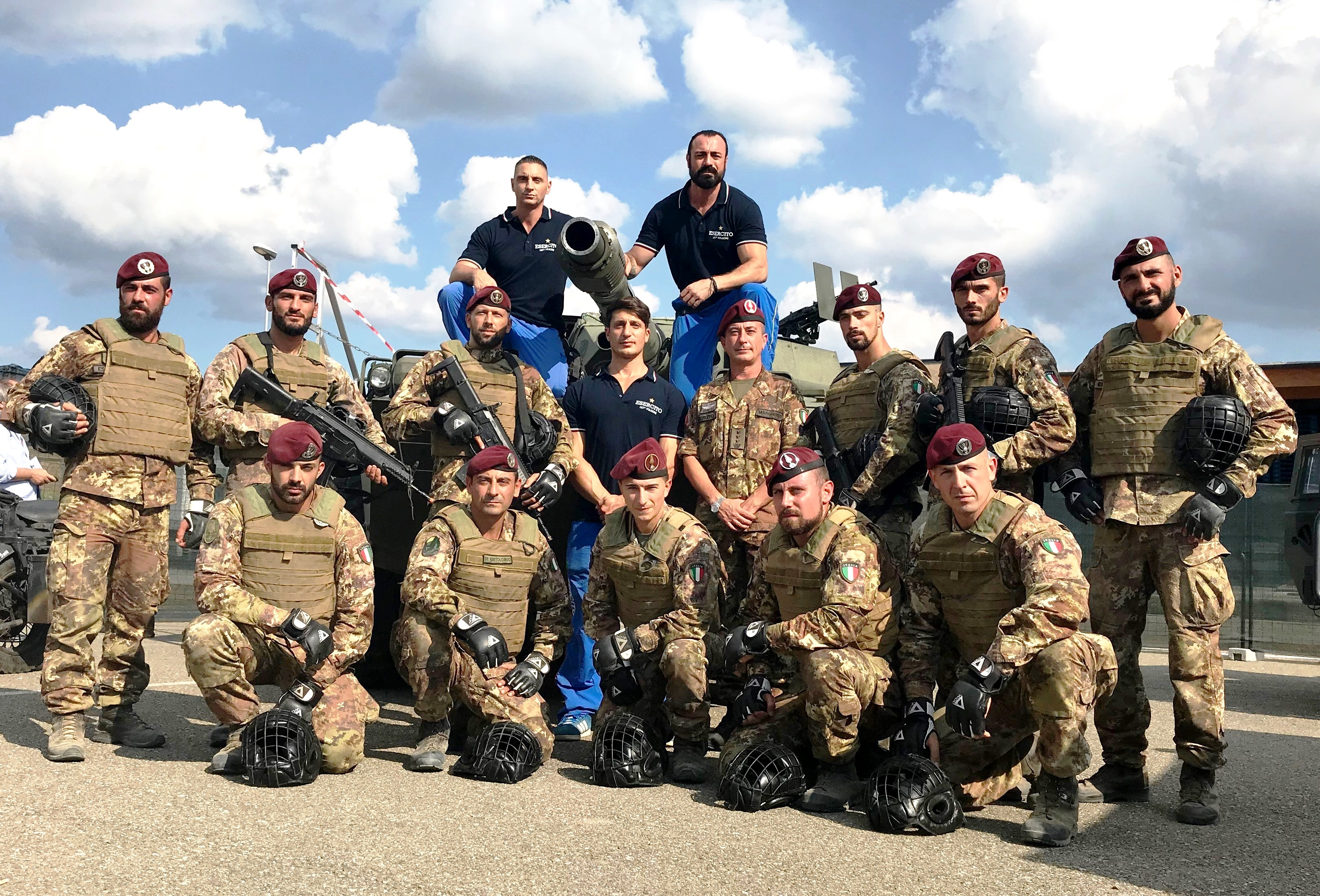 L'ESERCITO AL GAME FAIR 2018