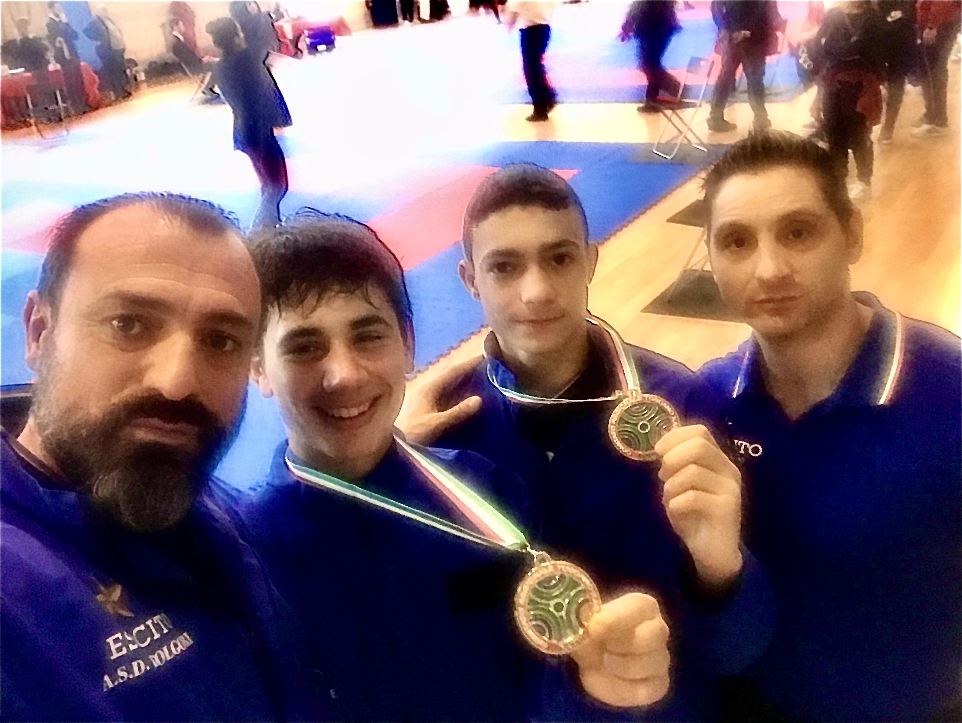 Oro e bronzo alla qualificazione del Campionato Italiano Juniores di Kumite