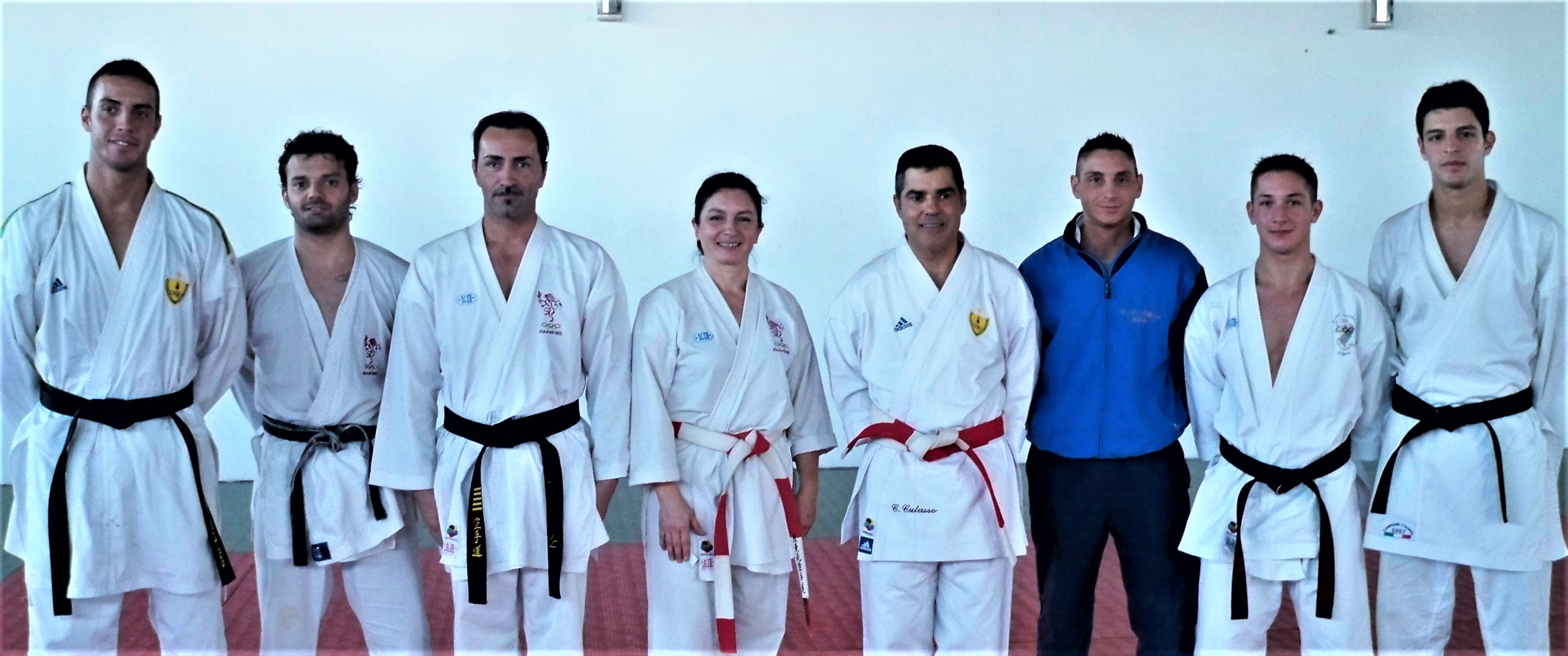 ALLENAMENTI INTERFORZE DI KARATE